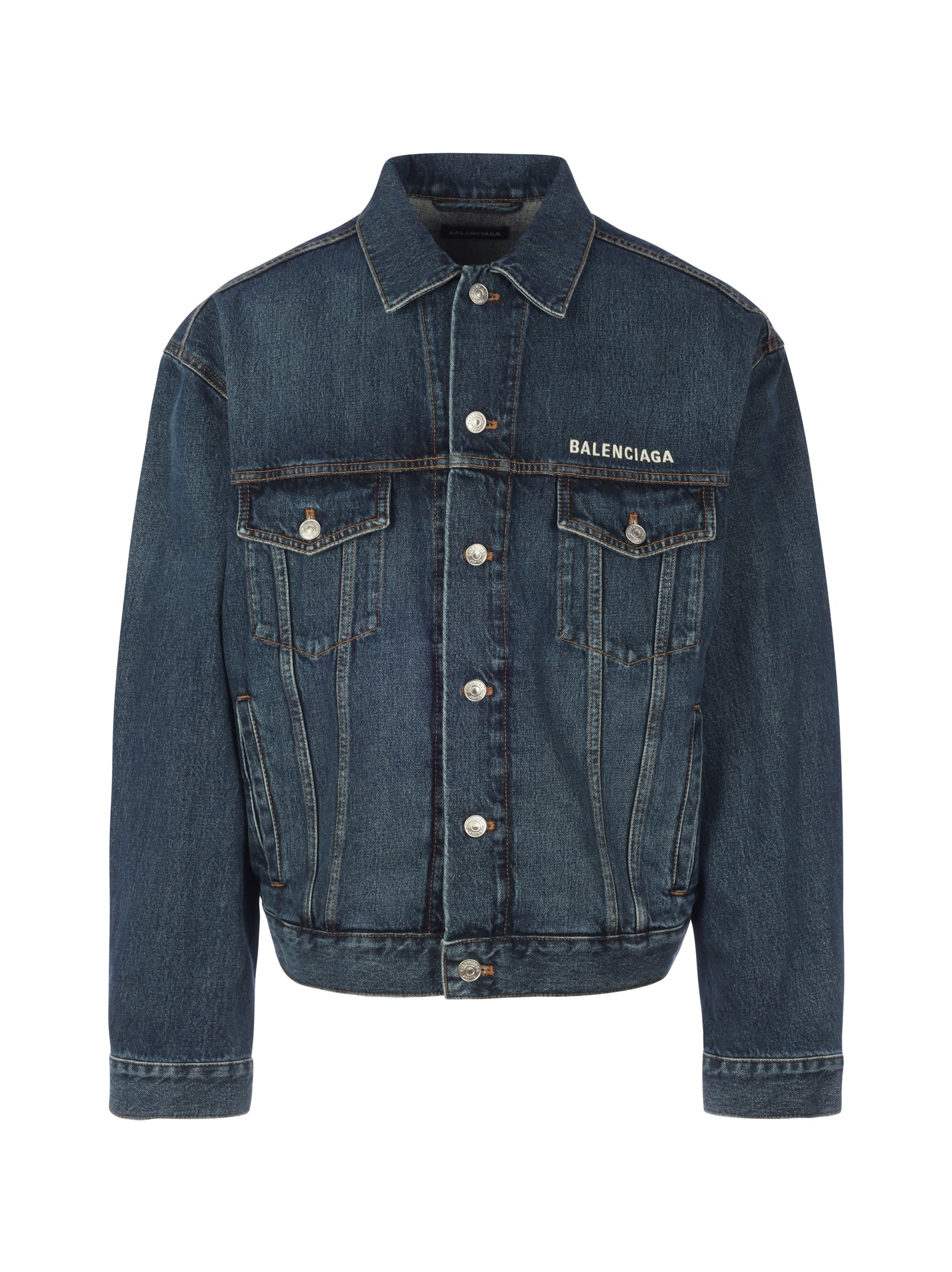 LARGE FIT DENIM JACKET