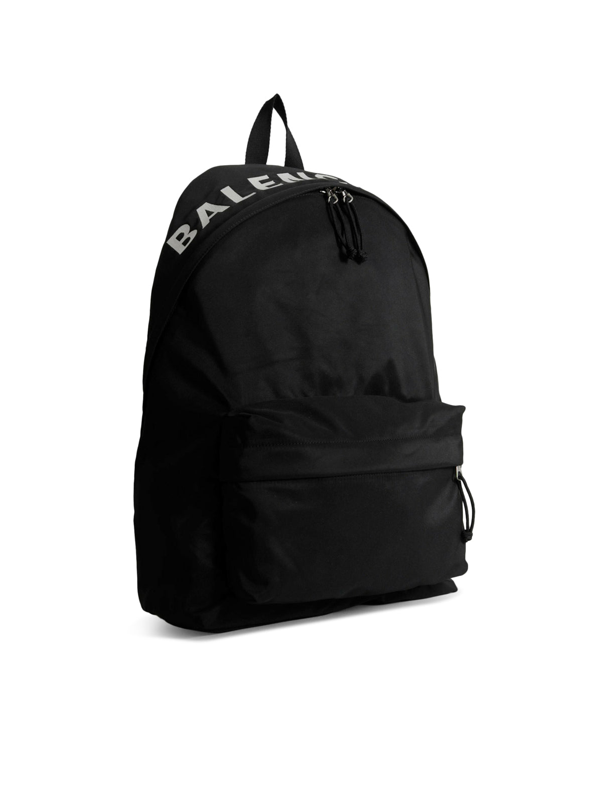 Black wheel backpack