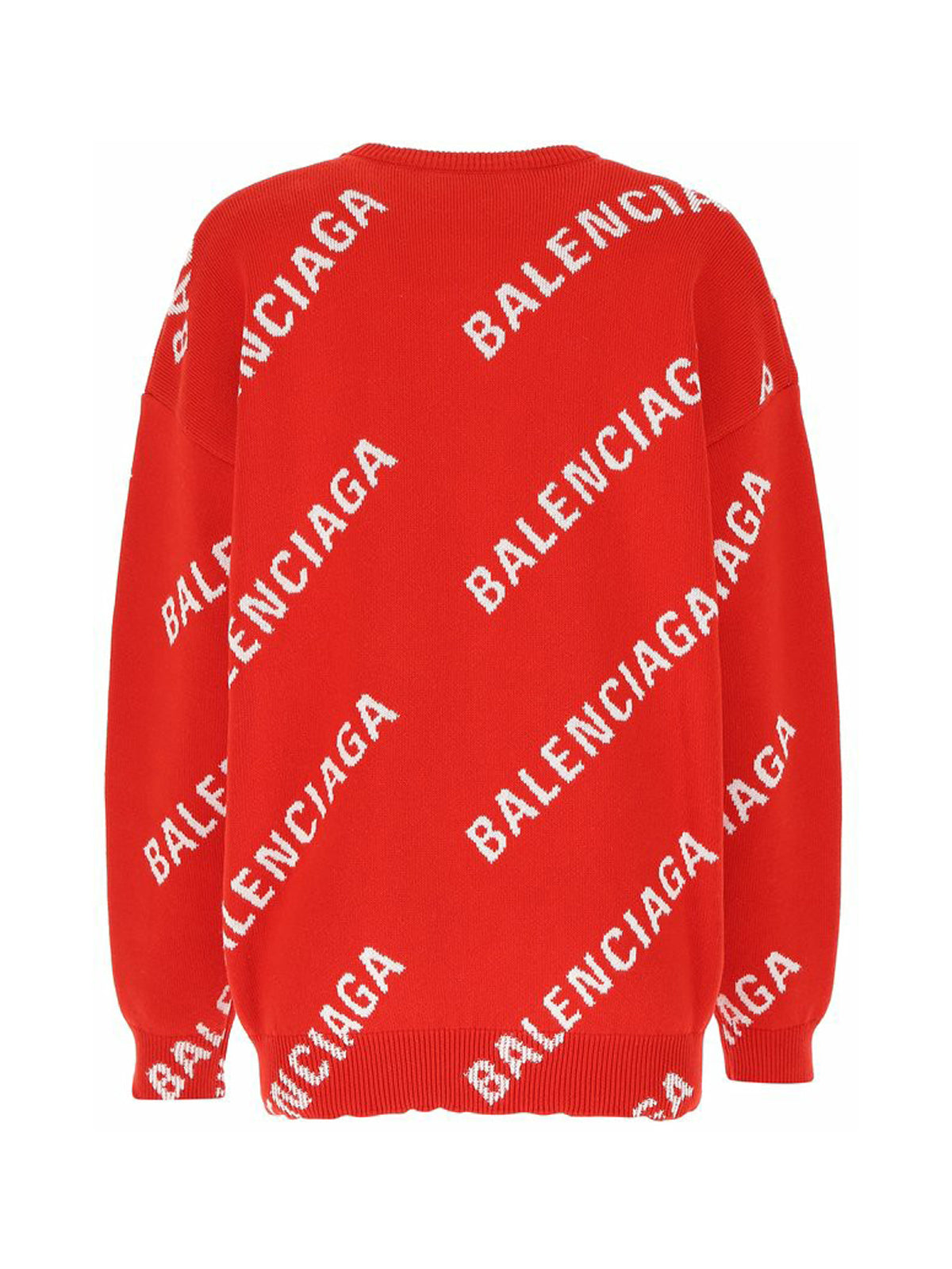 All Over Logo Knit Sweater