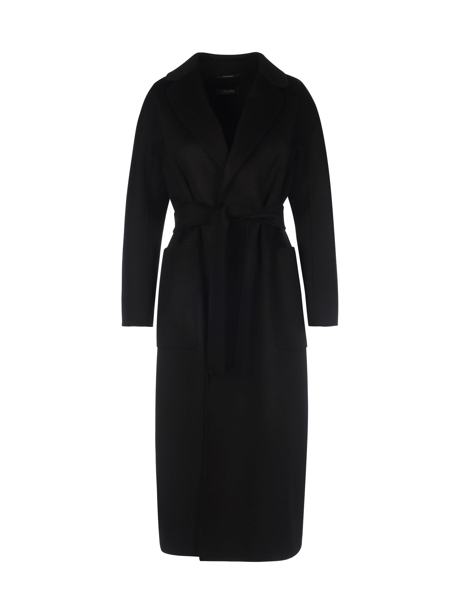 """Amore"" coat in virgin wool and cashmere"