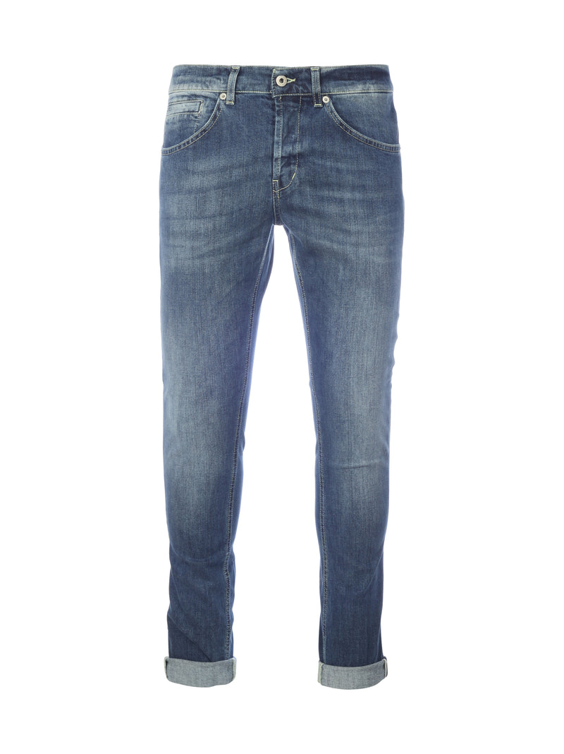 Skinny jeans with medium waist
