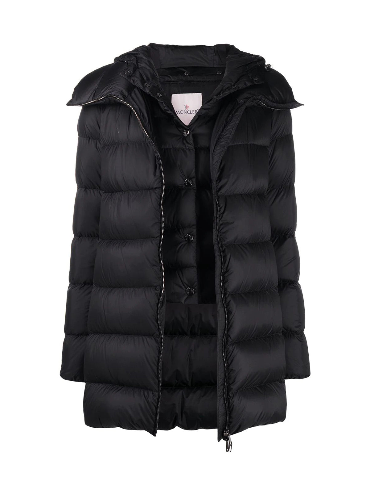 Ange double-layer padded coat