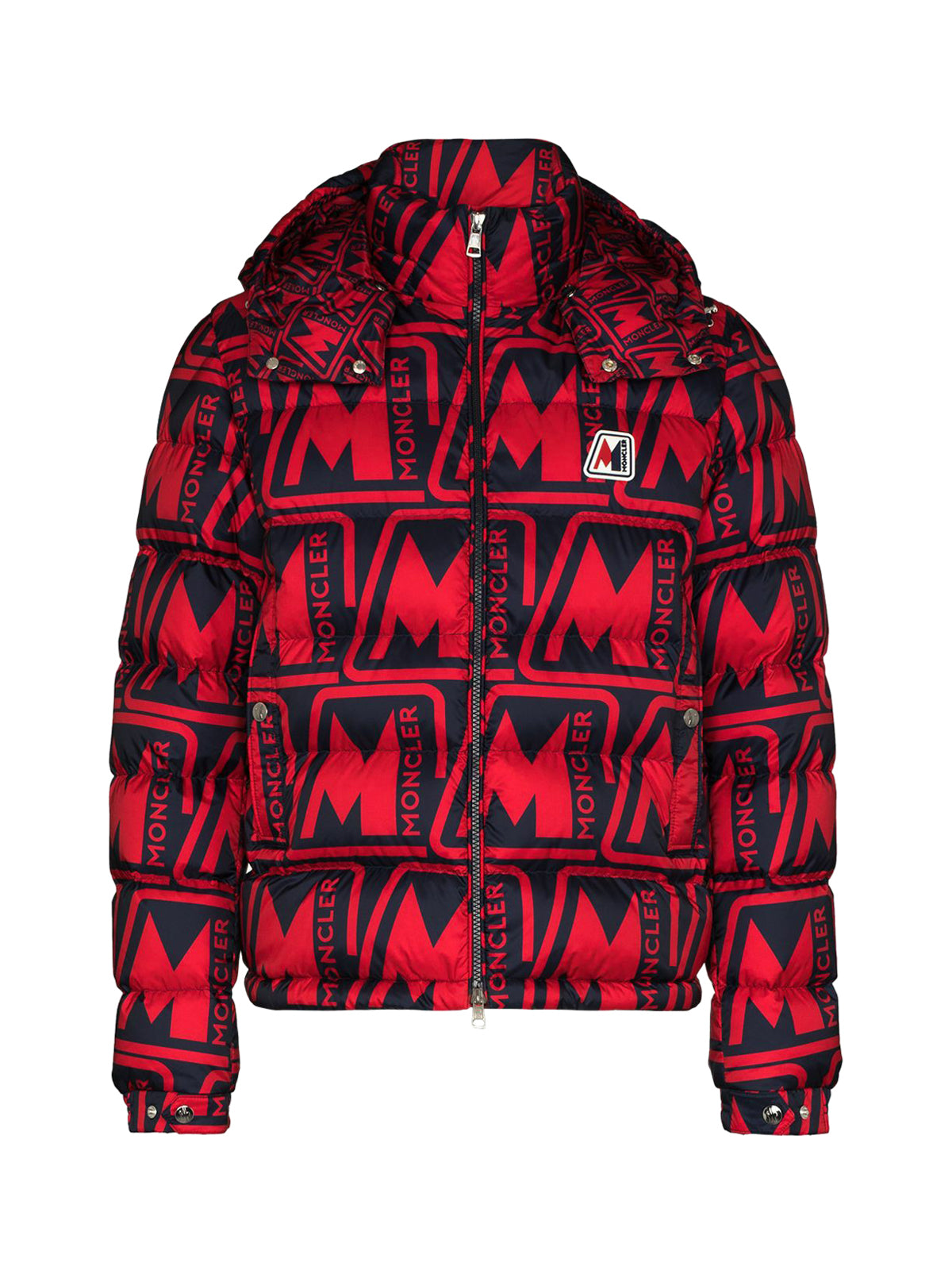 Frioland hooded logo-print down jacket