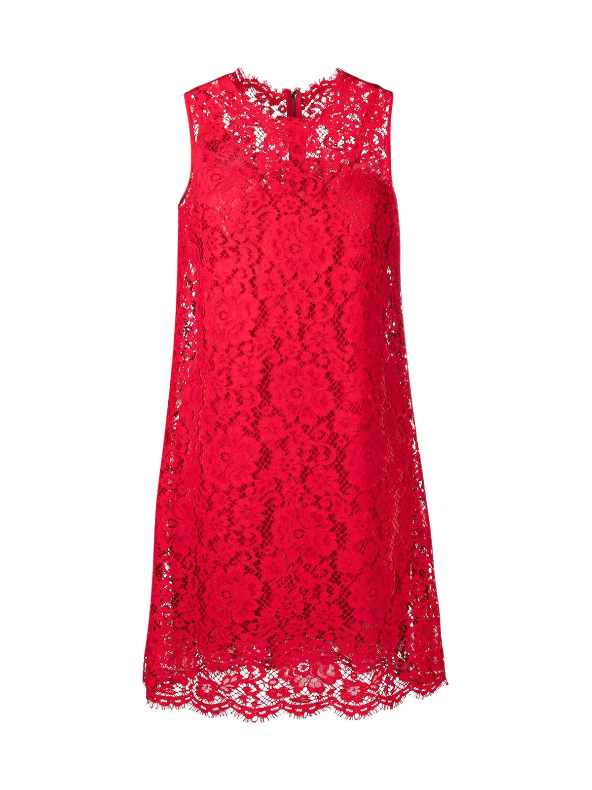 lace sleeveless mini dress