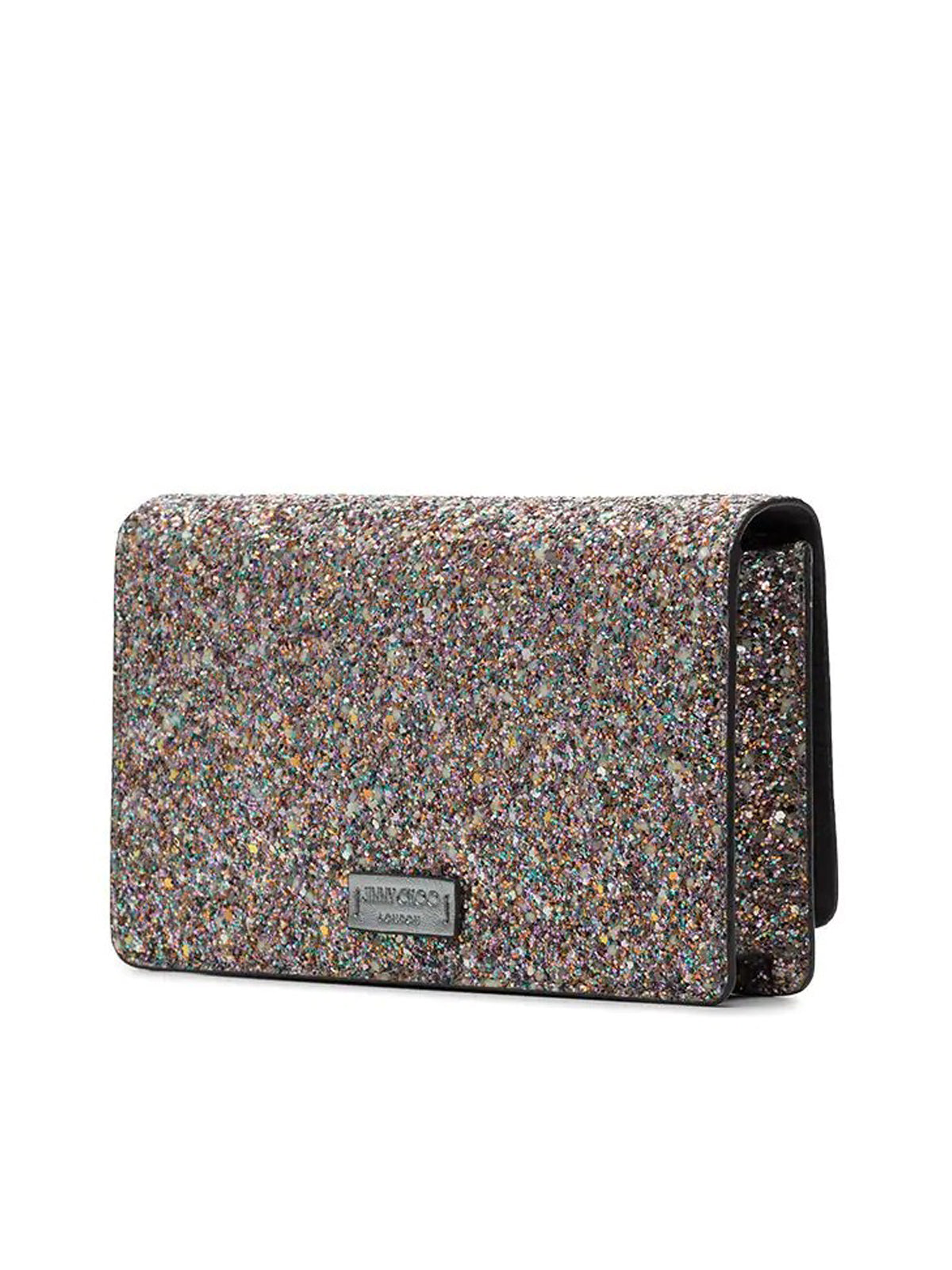 Palace shoulder bag with glitter