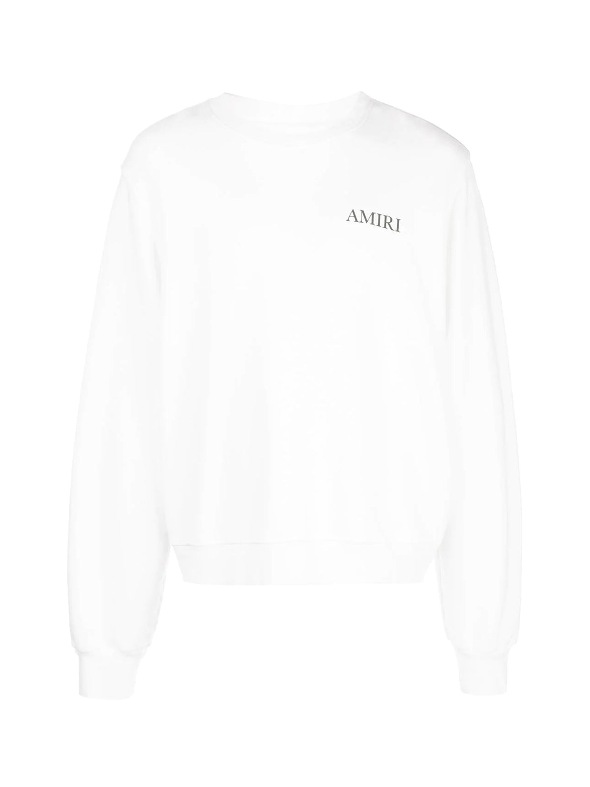 AMIRI LARGE LOGO CREW SWEAT