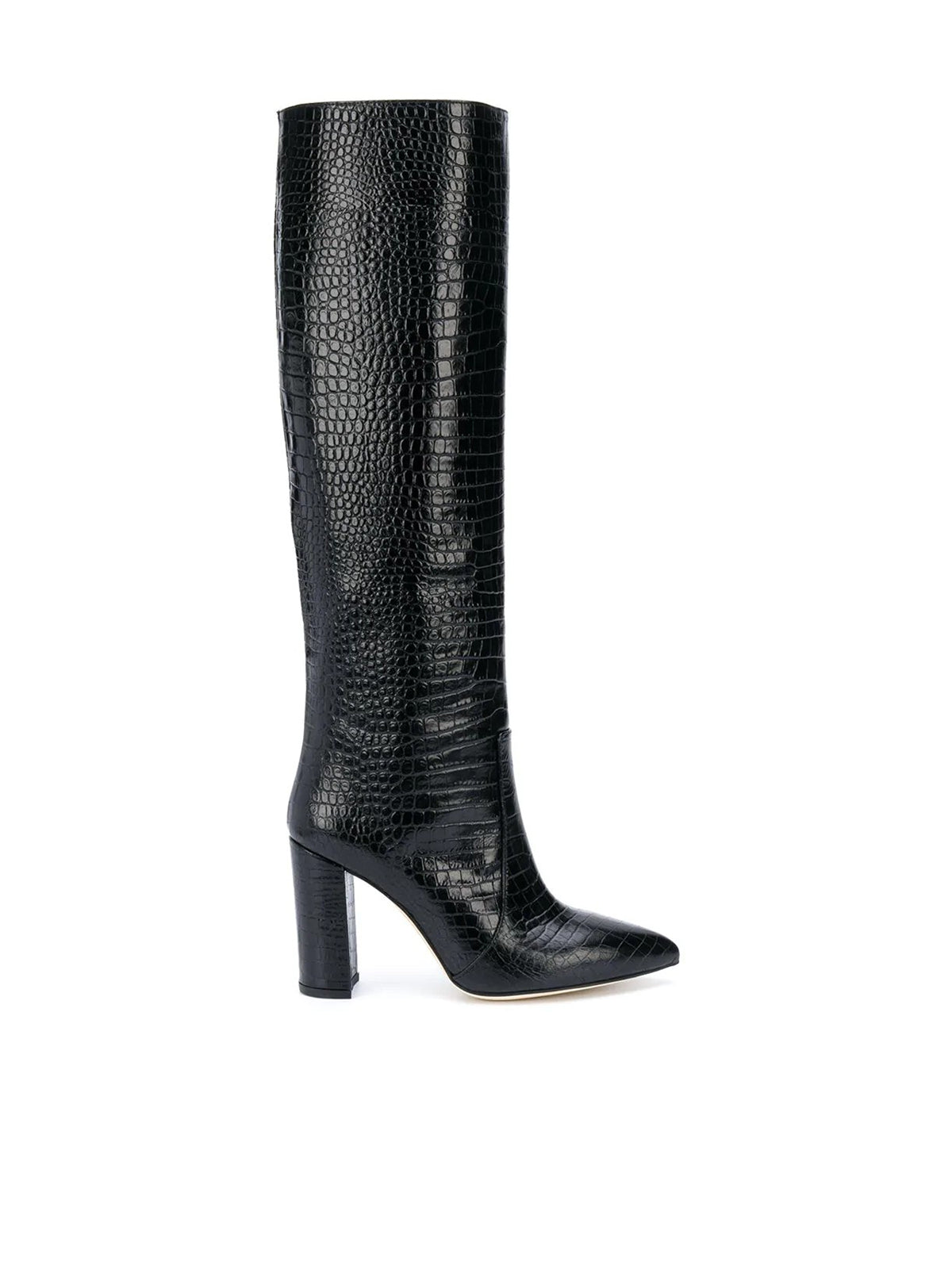 Croco effect boots