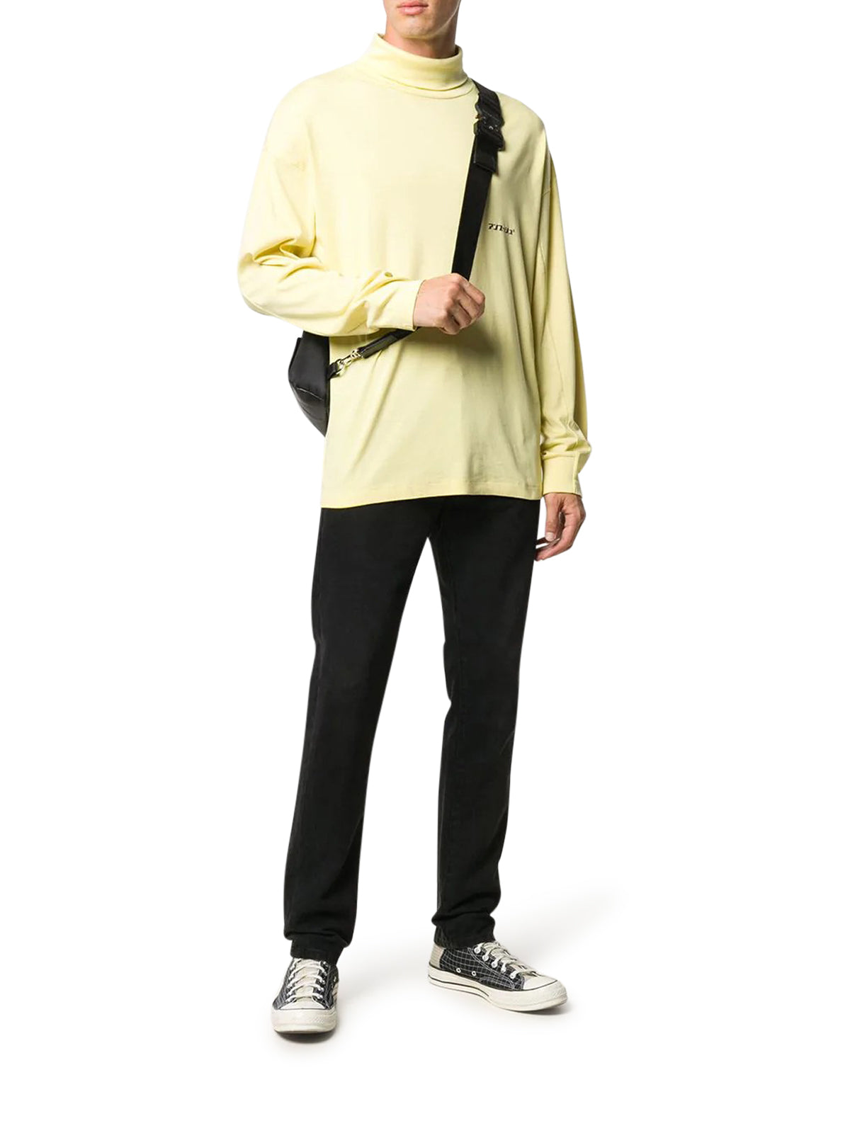 rollneck cotton jumper