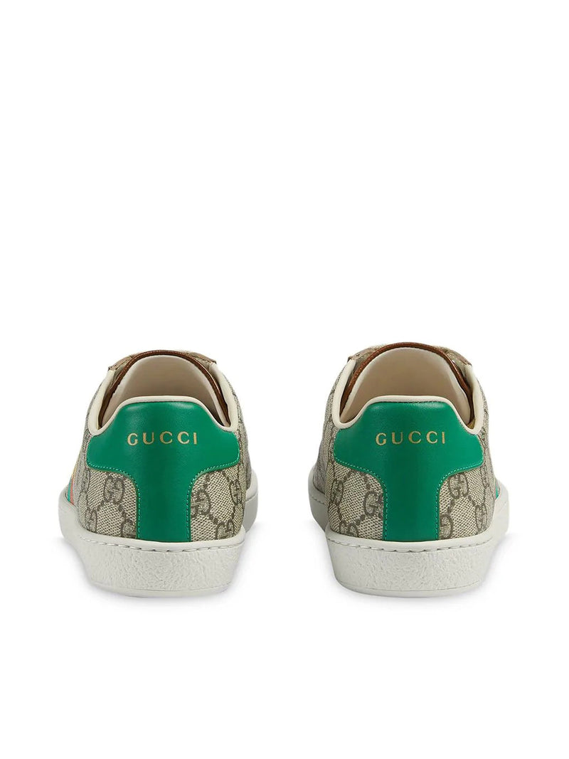 `Fake/Not` print Ace sneakers