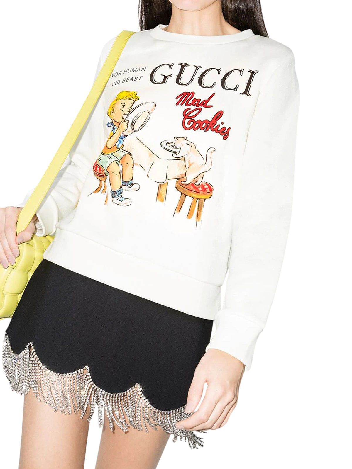 Mad Cookies print sweatshirt