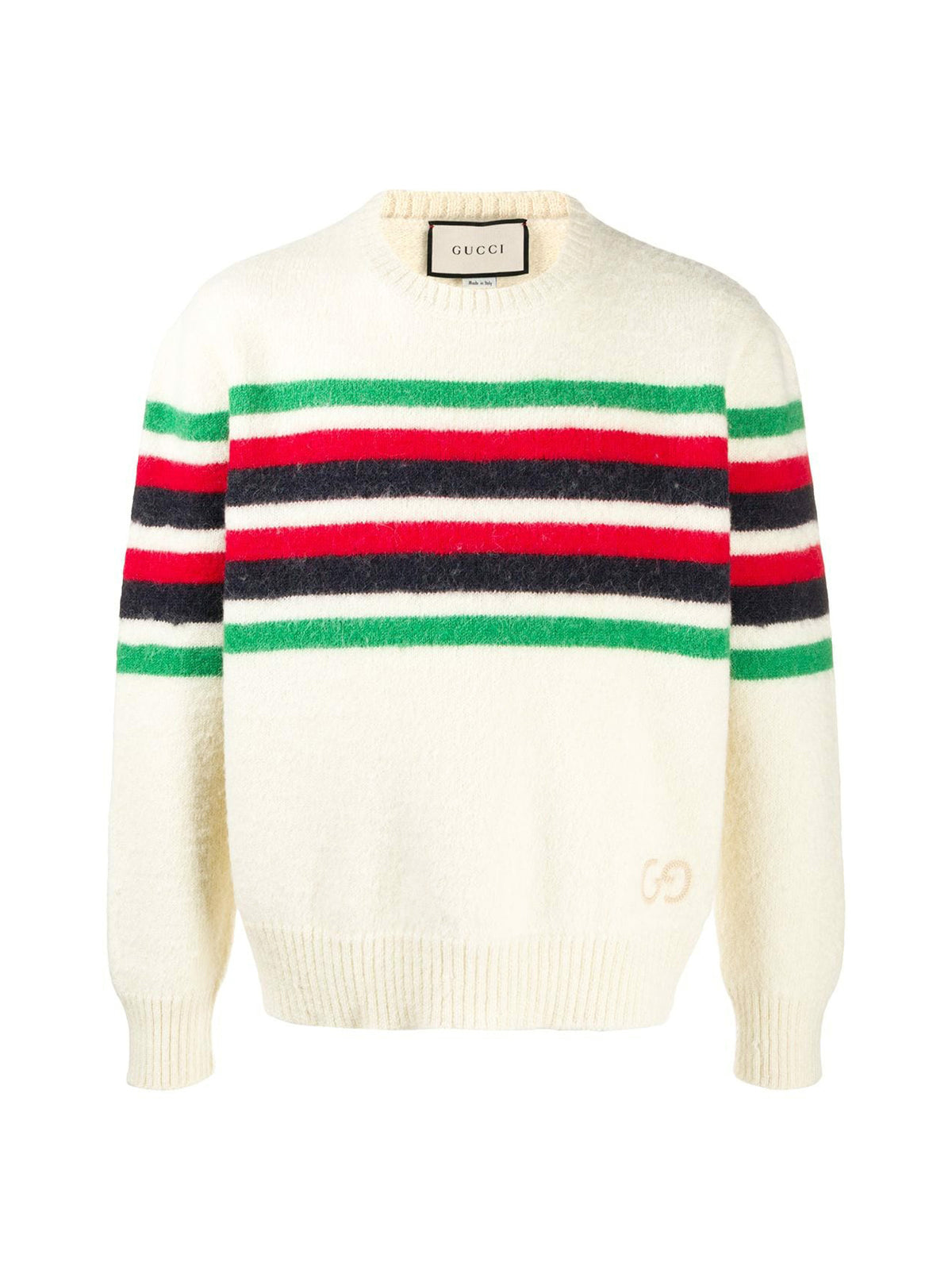 GG-detail striped jumper