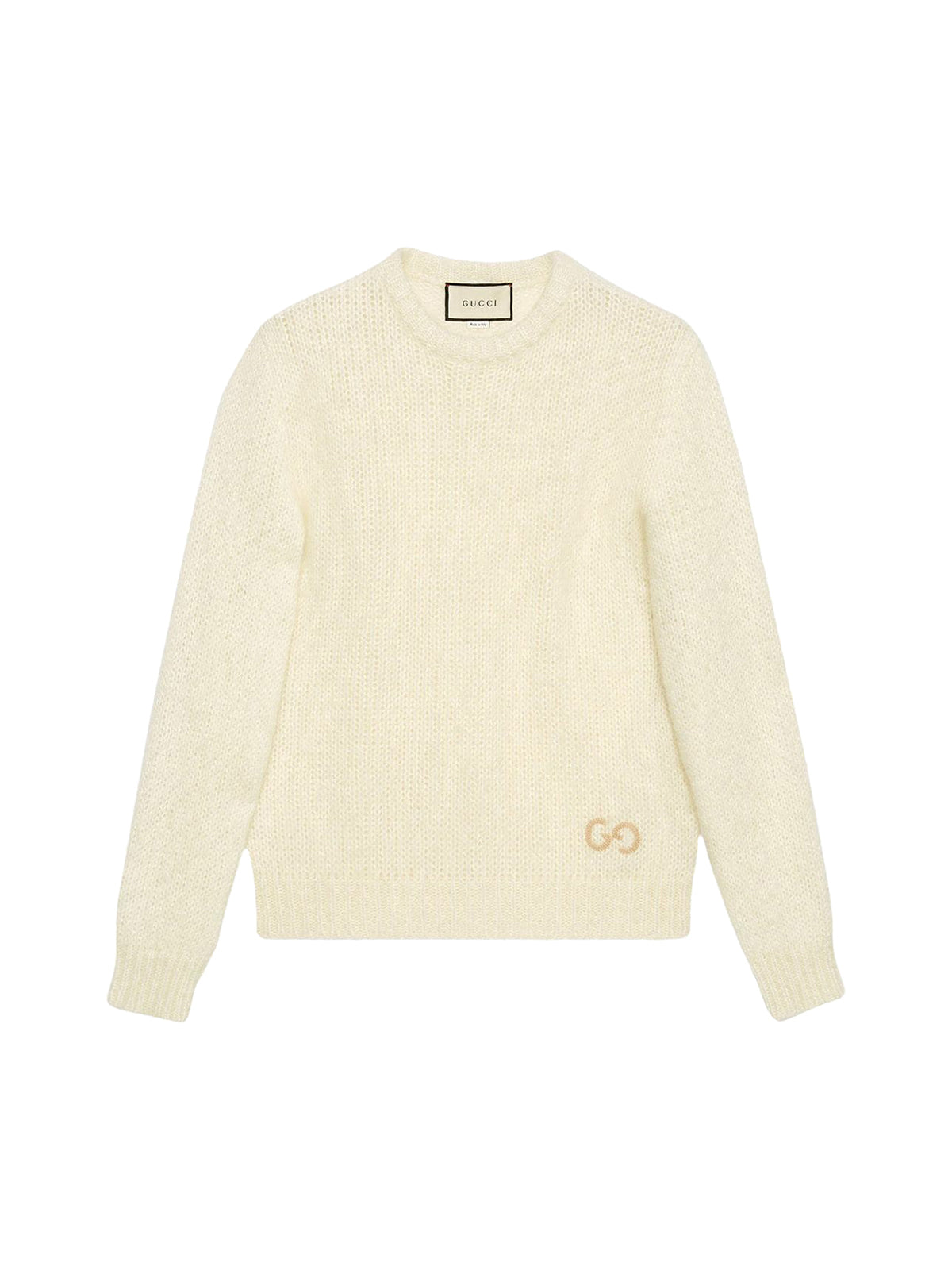 GG embroidery knitted jumper