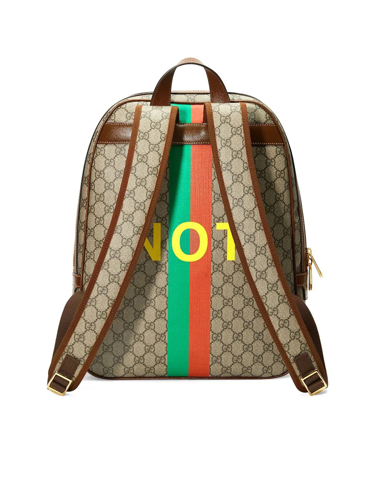 """Fake"" print backpack"