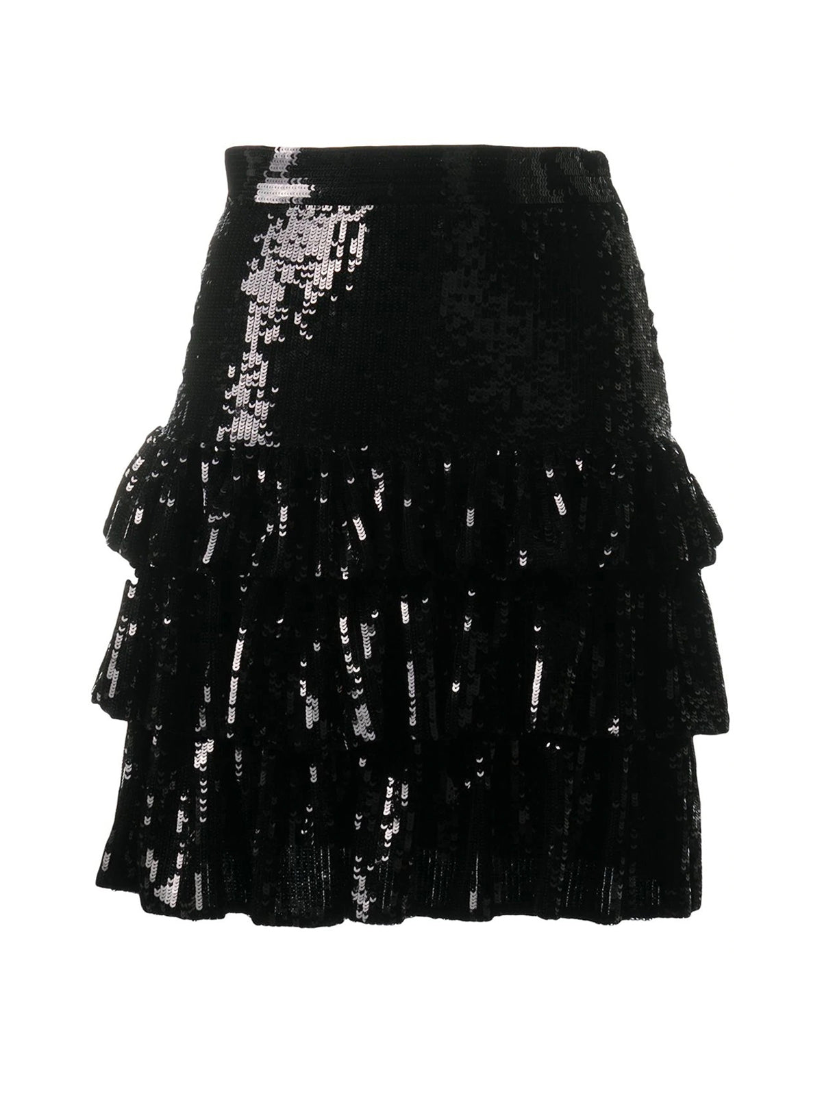 sequin-embellished mini skirt