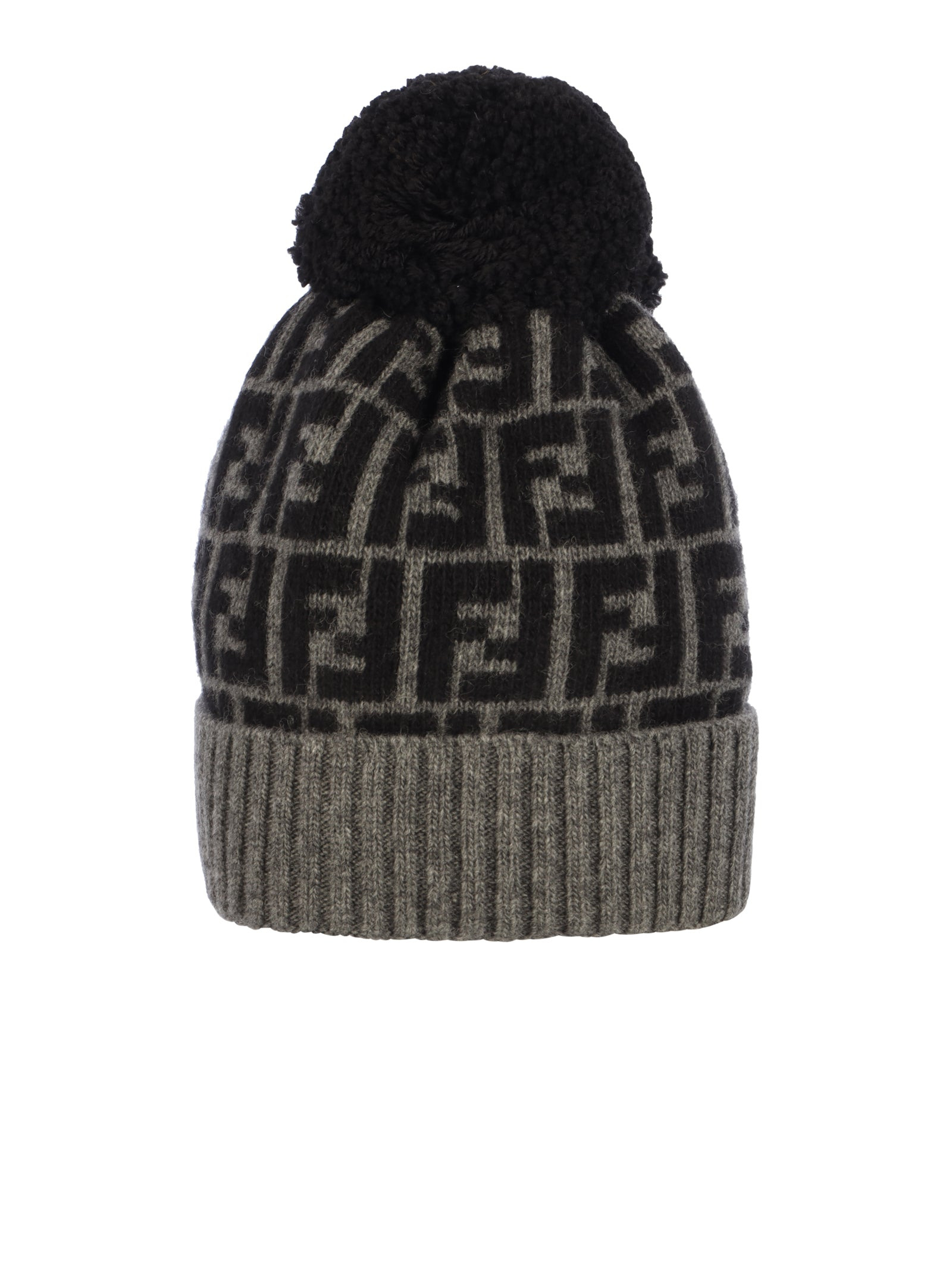 wool cap with logo