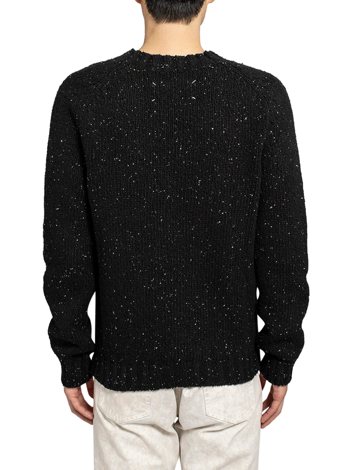 Sweater with lived hem