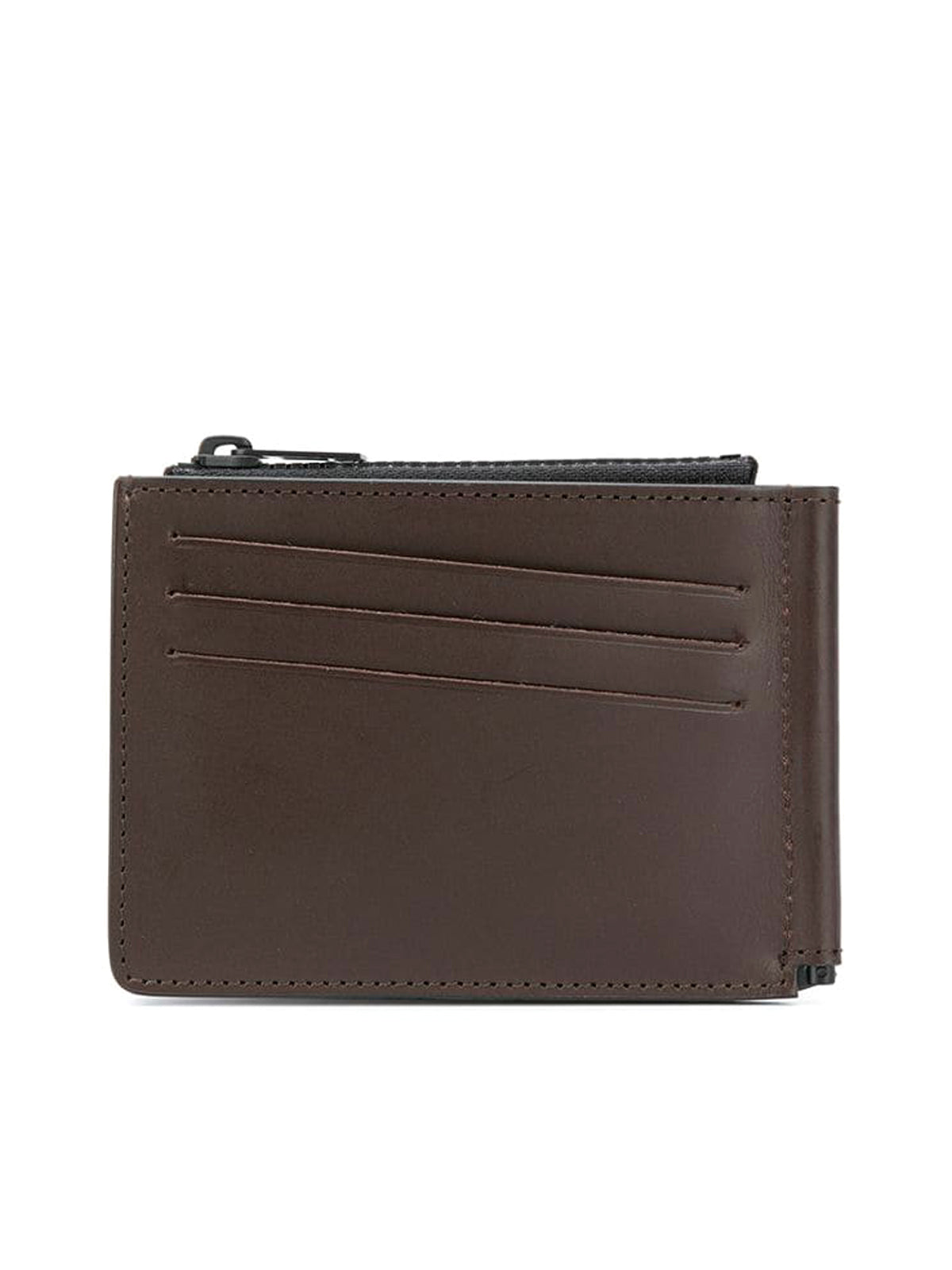 signature four-stitch logo wallet