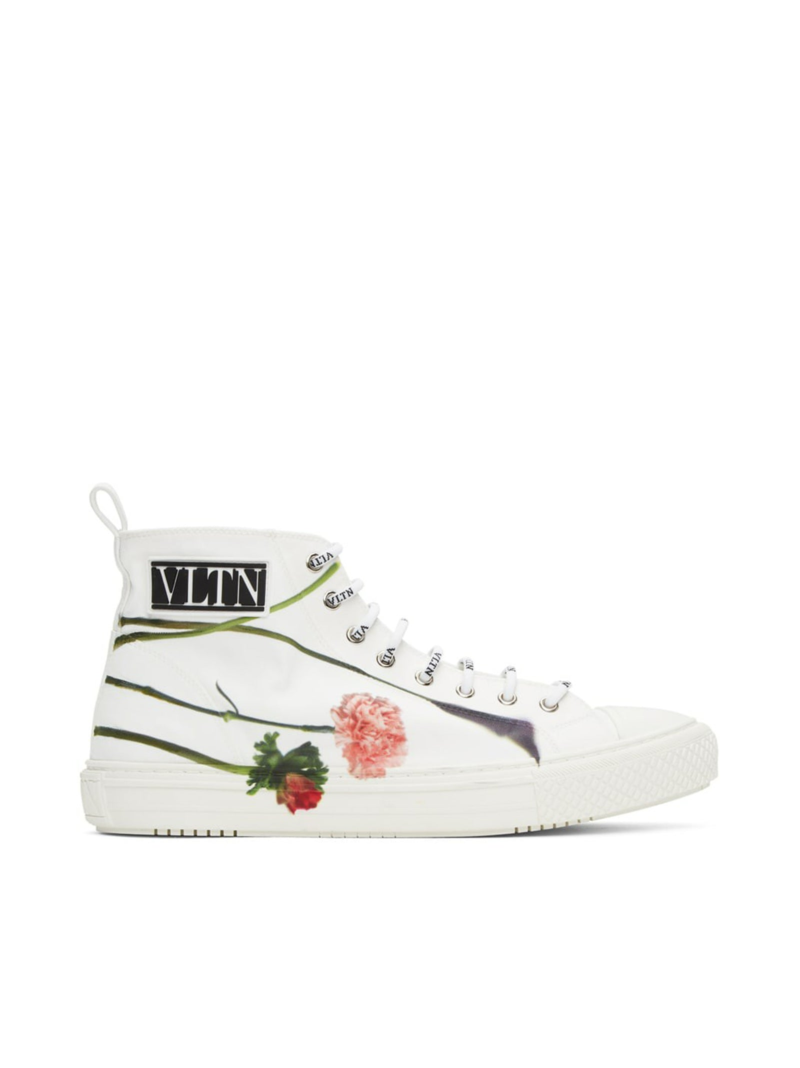 SNEAKERS HI TOP FLOWER