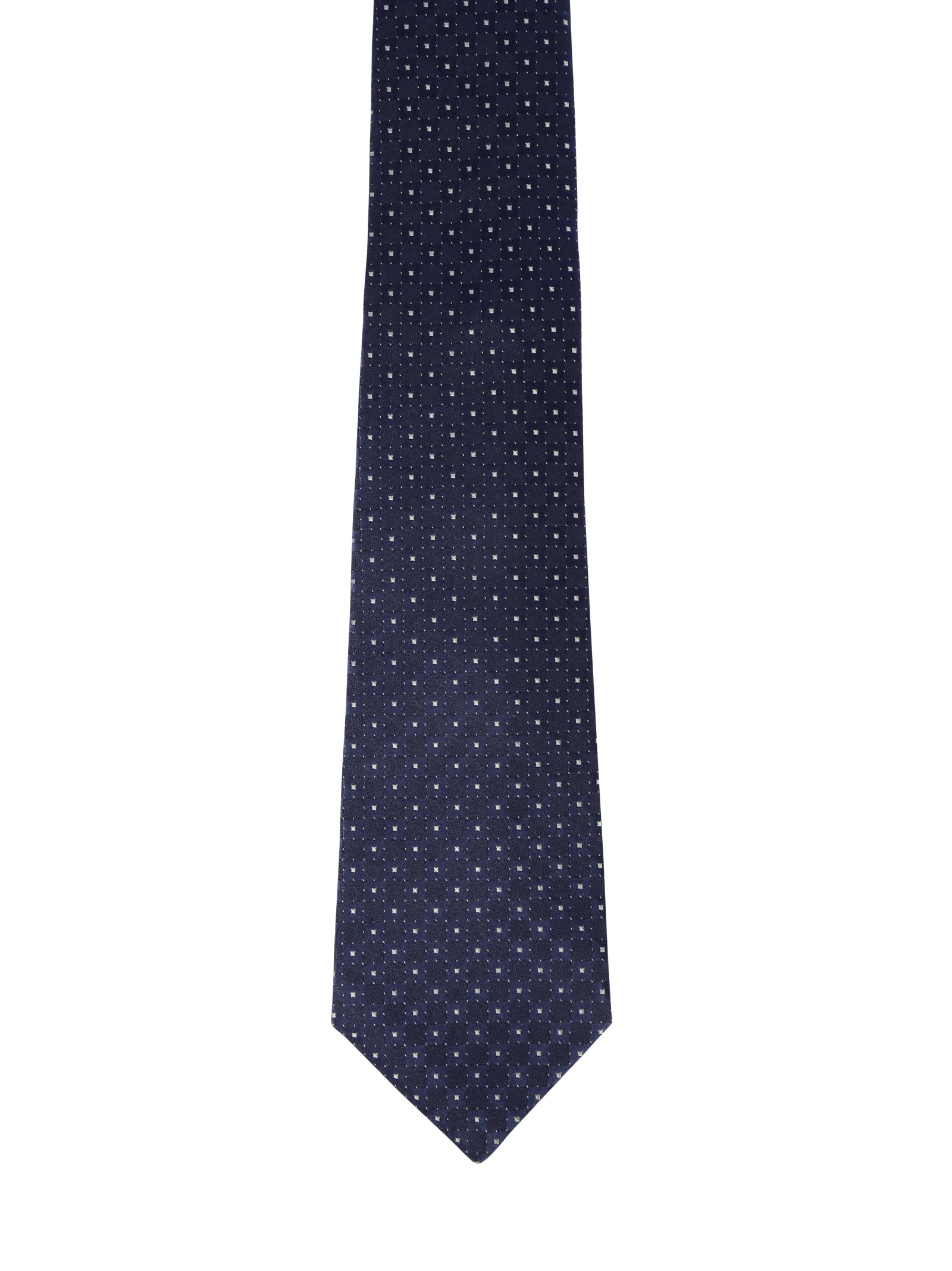 Tie with print