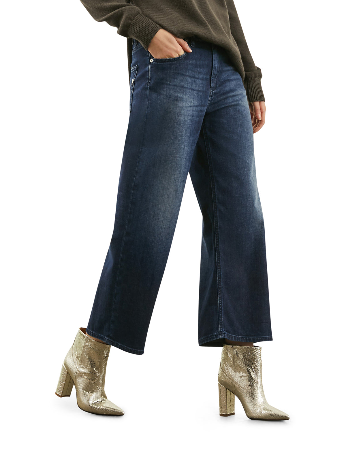 Avenue loose-fit jeans
