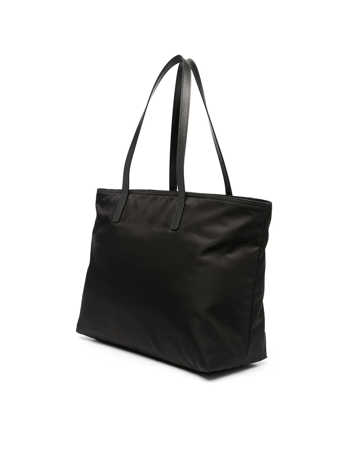 triangle patch tote bag