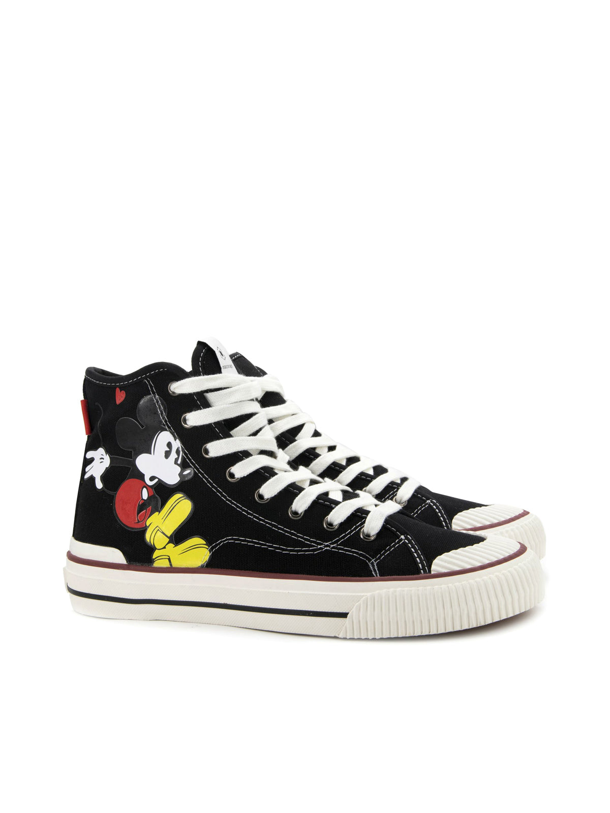 sneakers HIGH-TOP MICKEY MOUSE BLACK