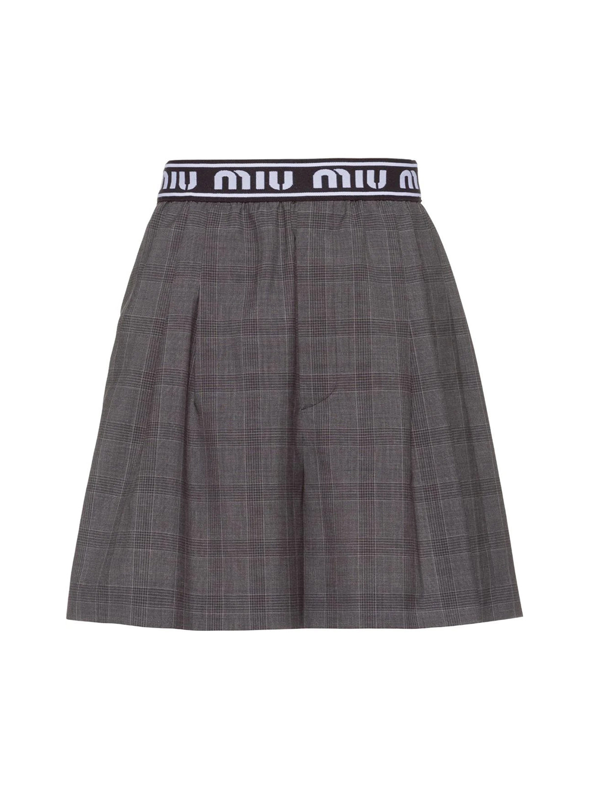 Prince of Wales check shorts