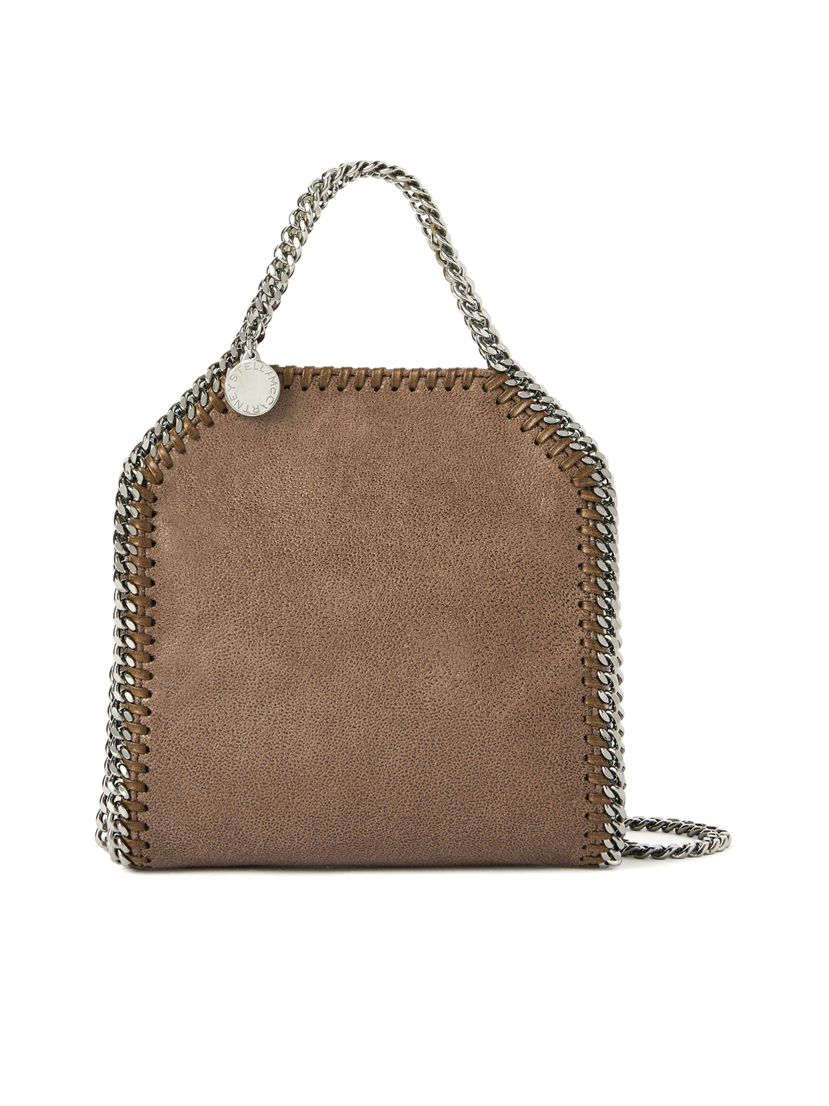 FALABELLA MINI BAG IN ECO LEATHER WITH 3 CHAINS