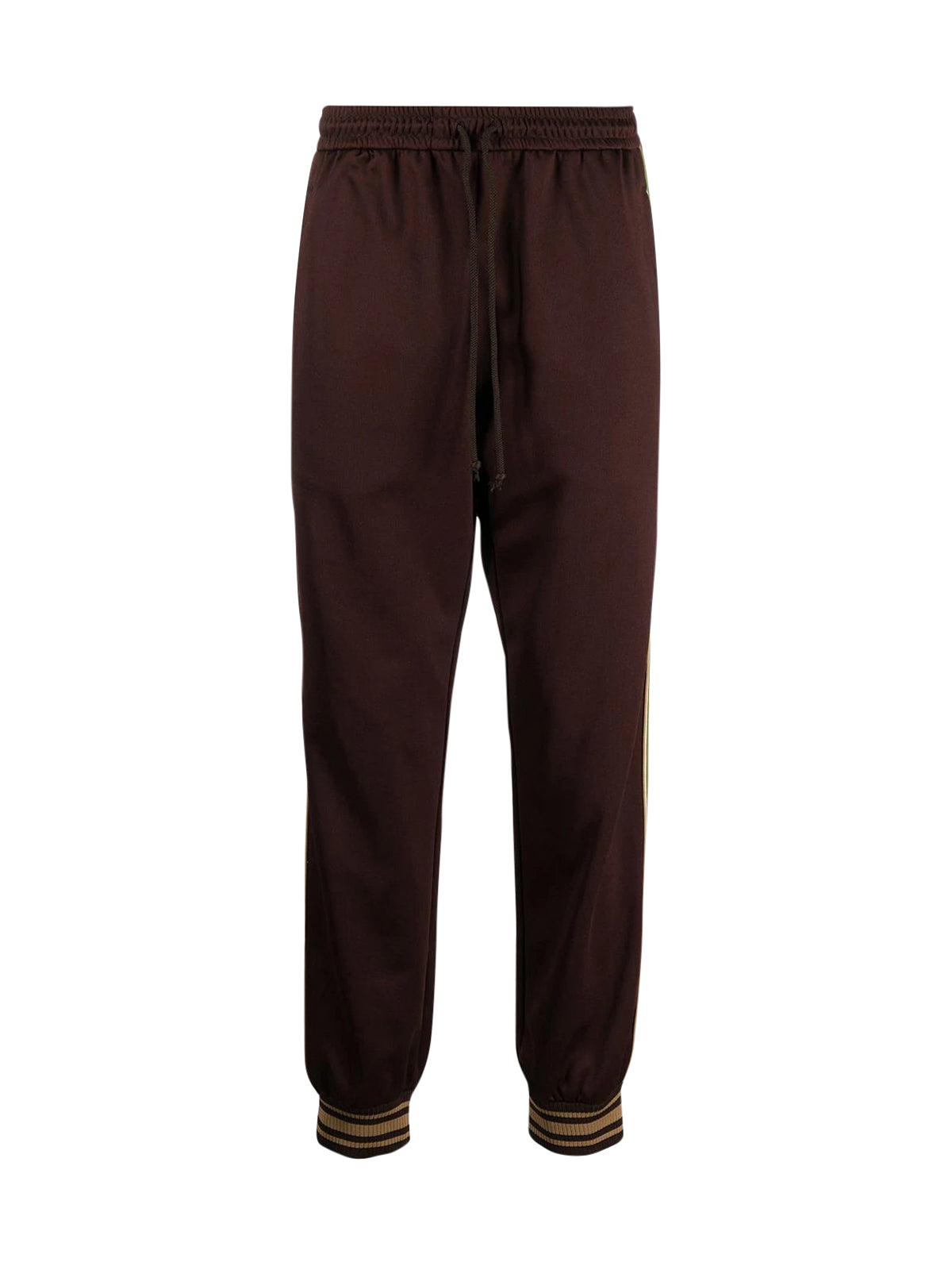 Web-stripe sweatpants