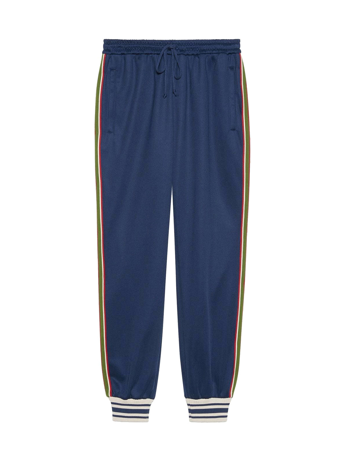 Web stripe-trim track pants