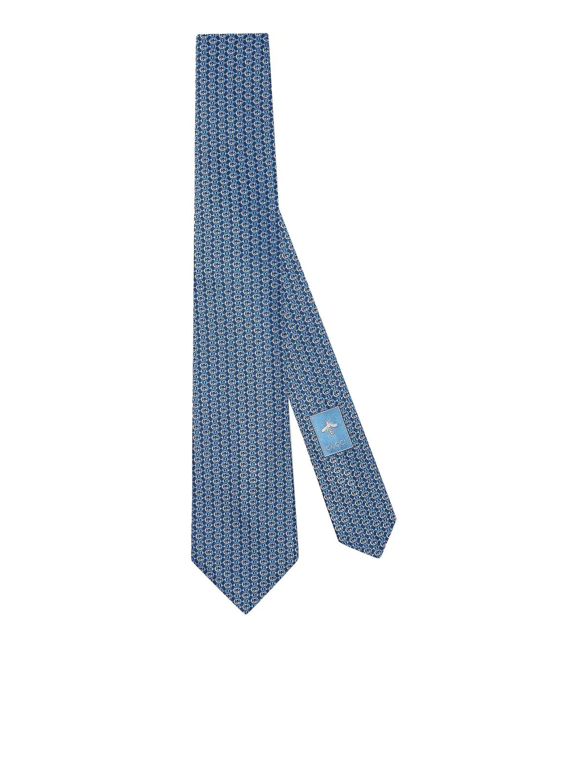 Interlocking G Horsebit necktie