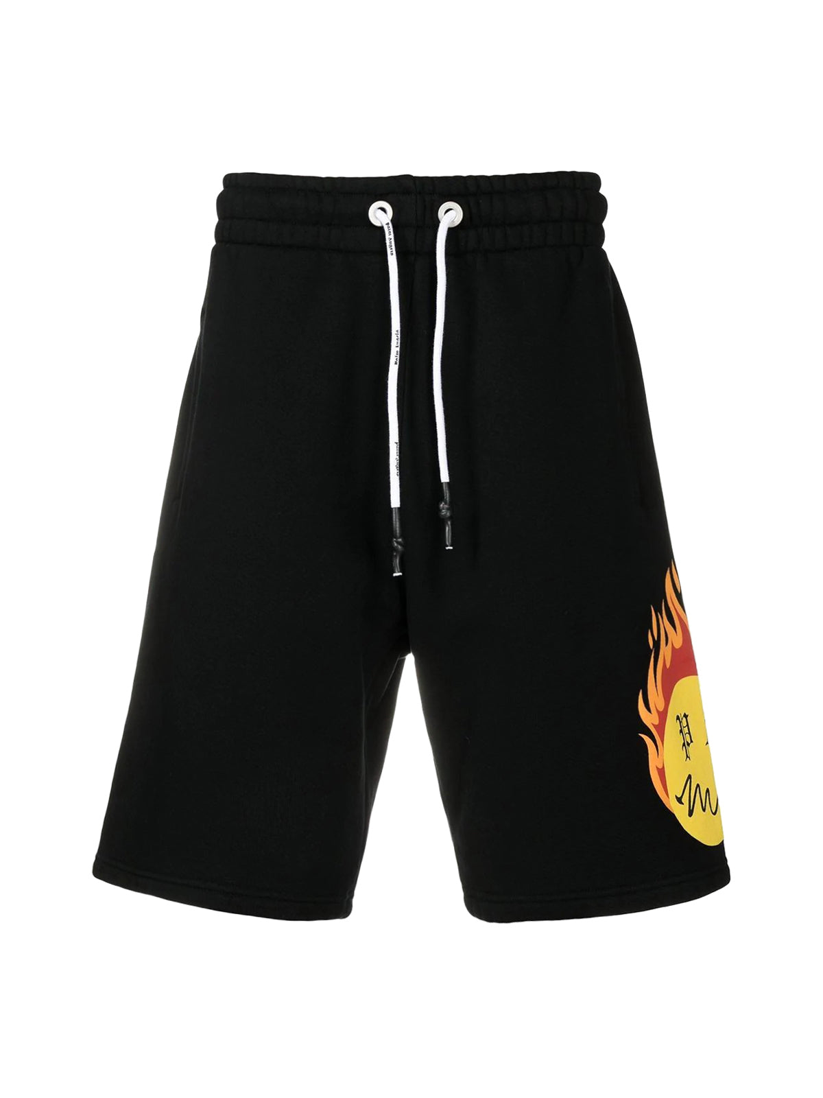 Burning Head printed shorts