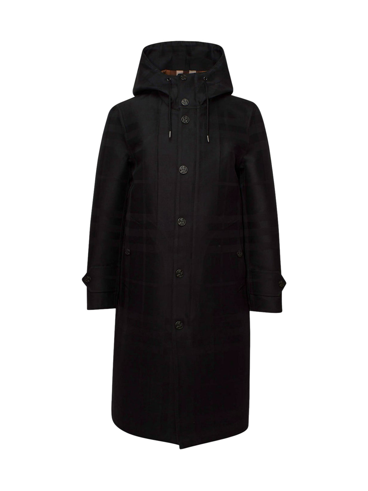 Technical cotton coat