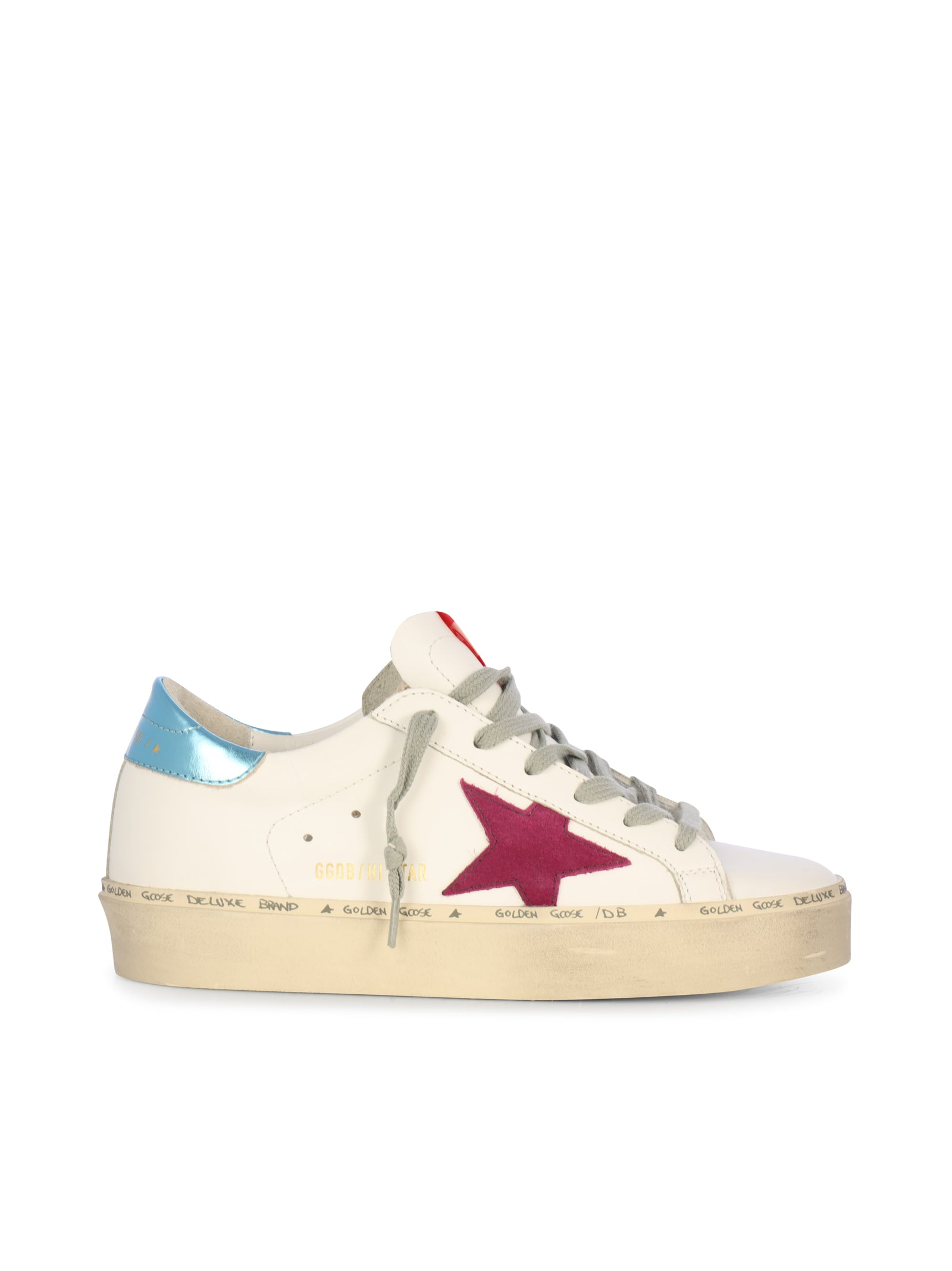 Hi star Sneakers in white leather