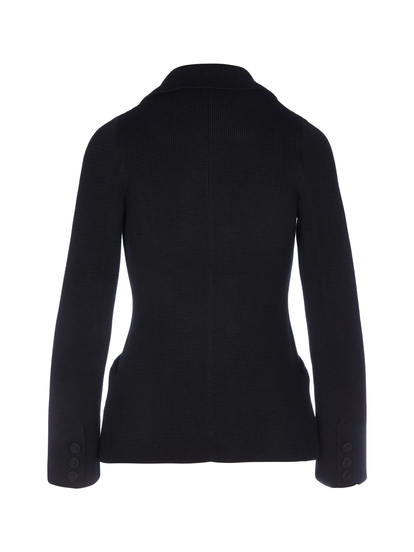 BAR JACKET IN KNITTED FABRIC