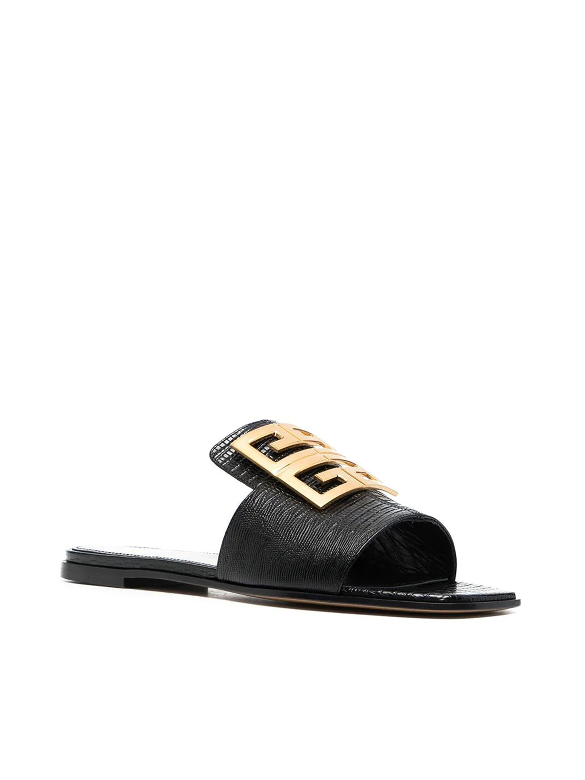 4G leather sandals