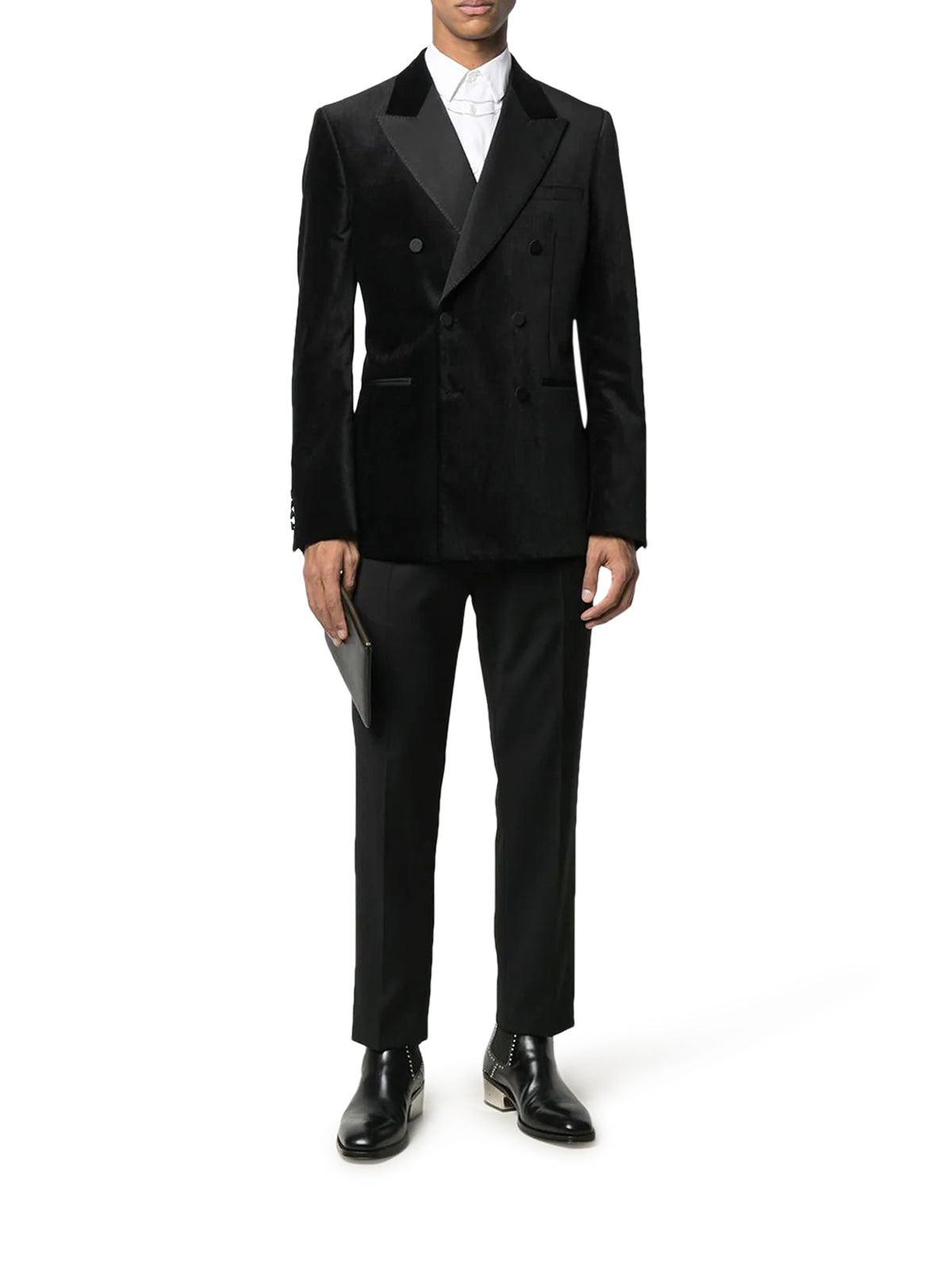 double-breasted dinner jacket
