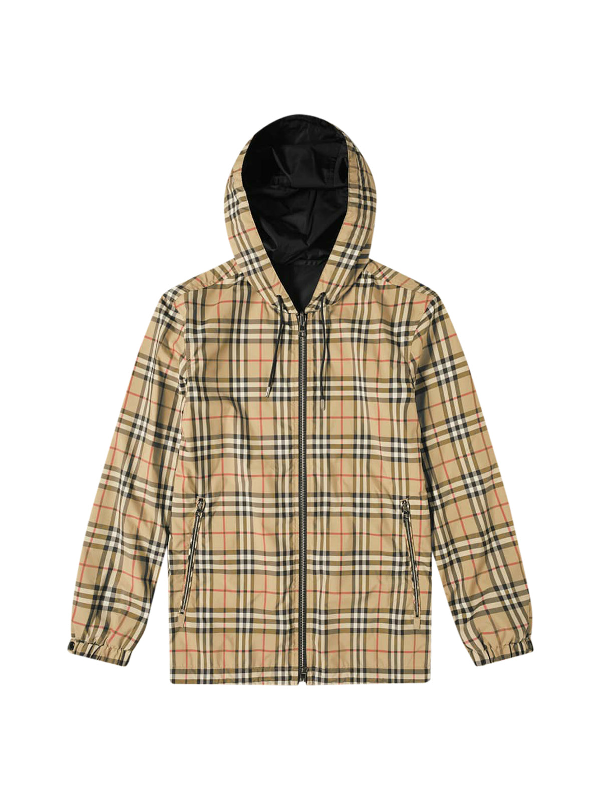 STRETON CHECK REVERSIBLE JACKET