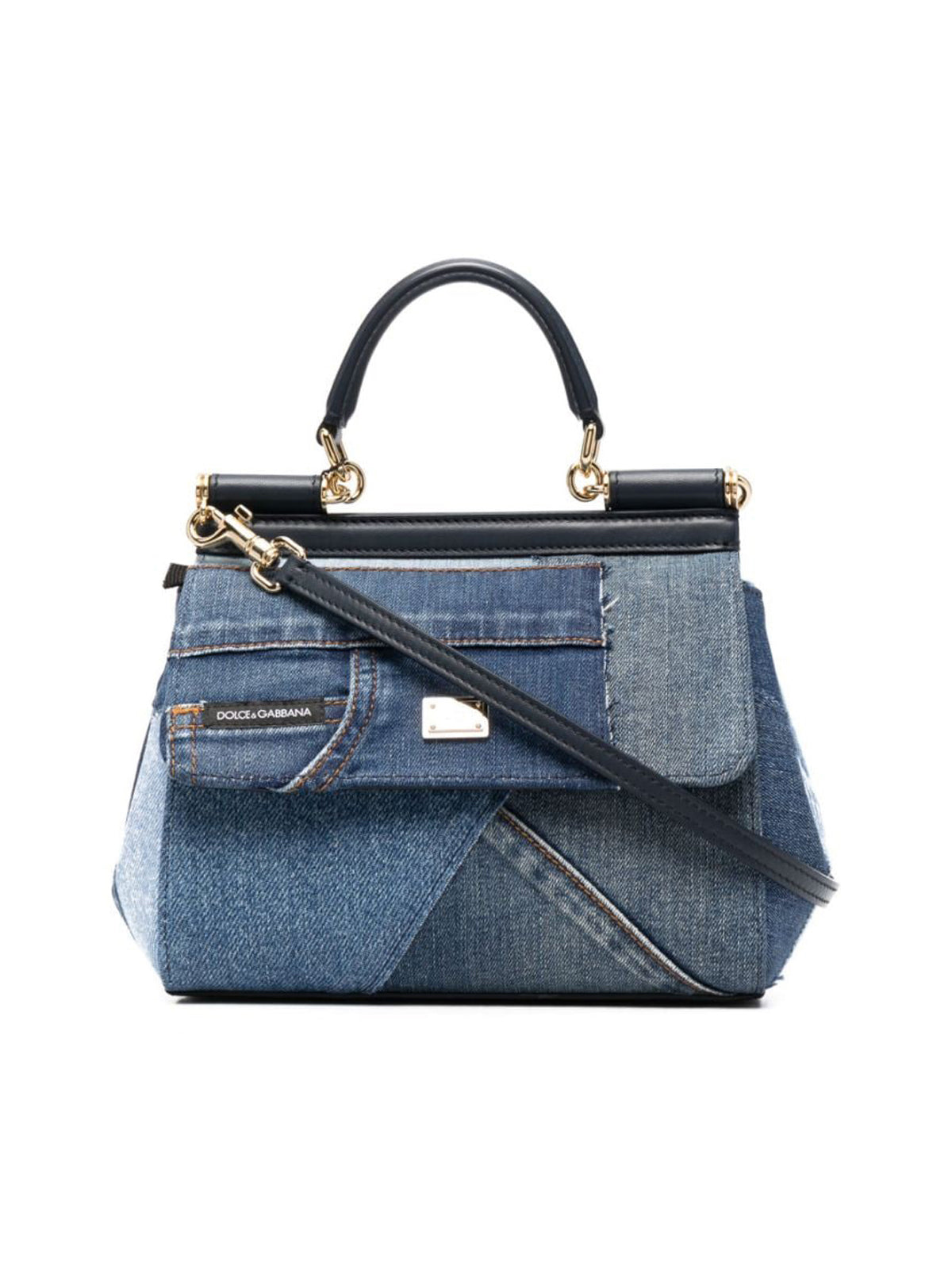 PATCH DENIM BAG