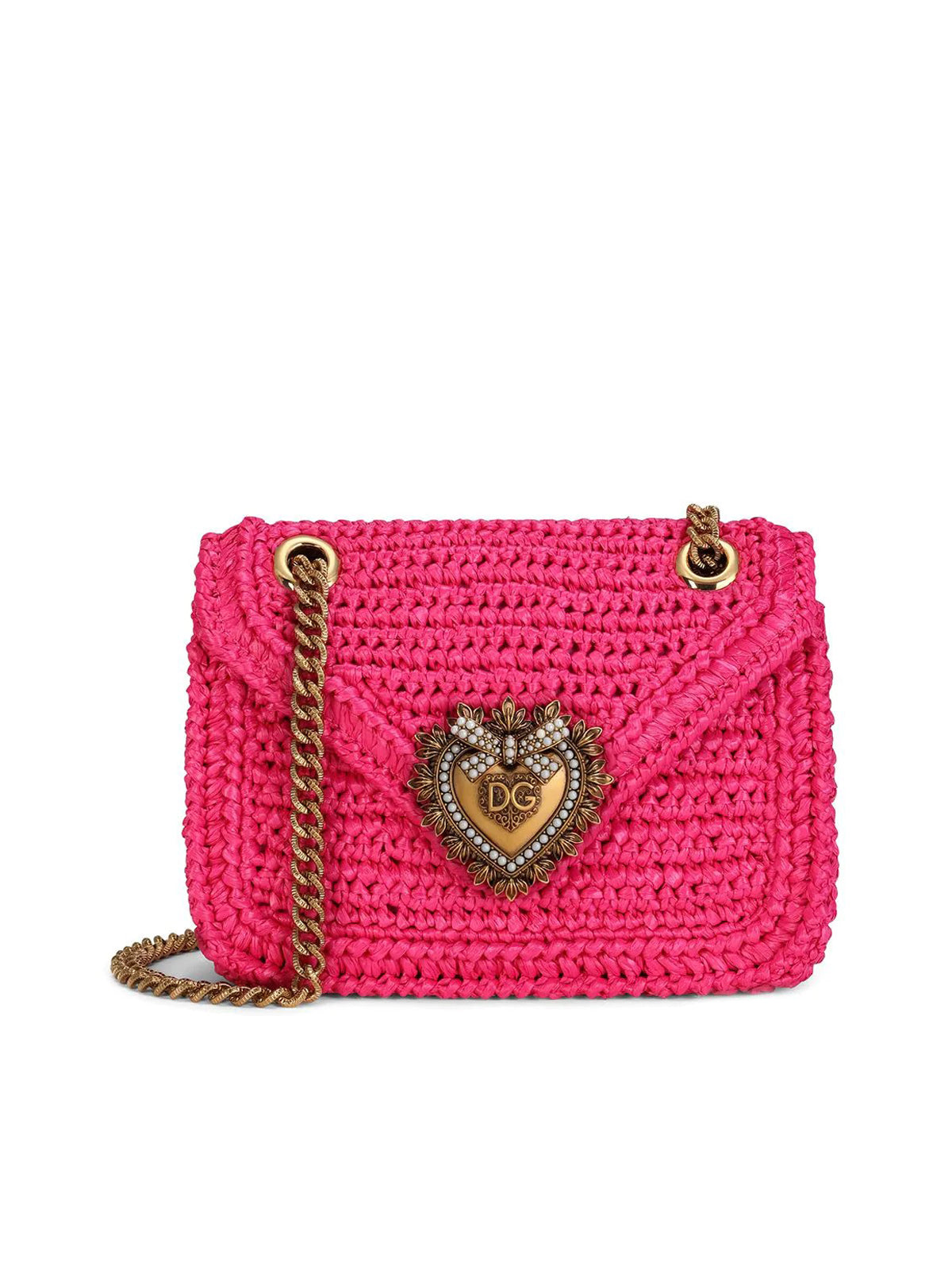 medium Devotion crochet crossbody bag