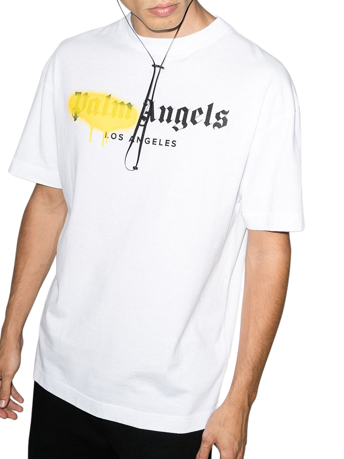 """LOS ANGELES"" SPRAYED LOGO S/S T-SHIRT"
