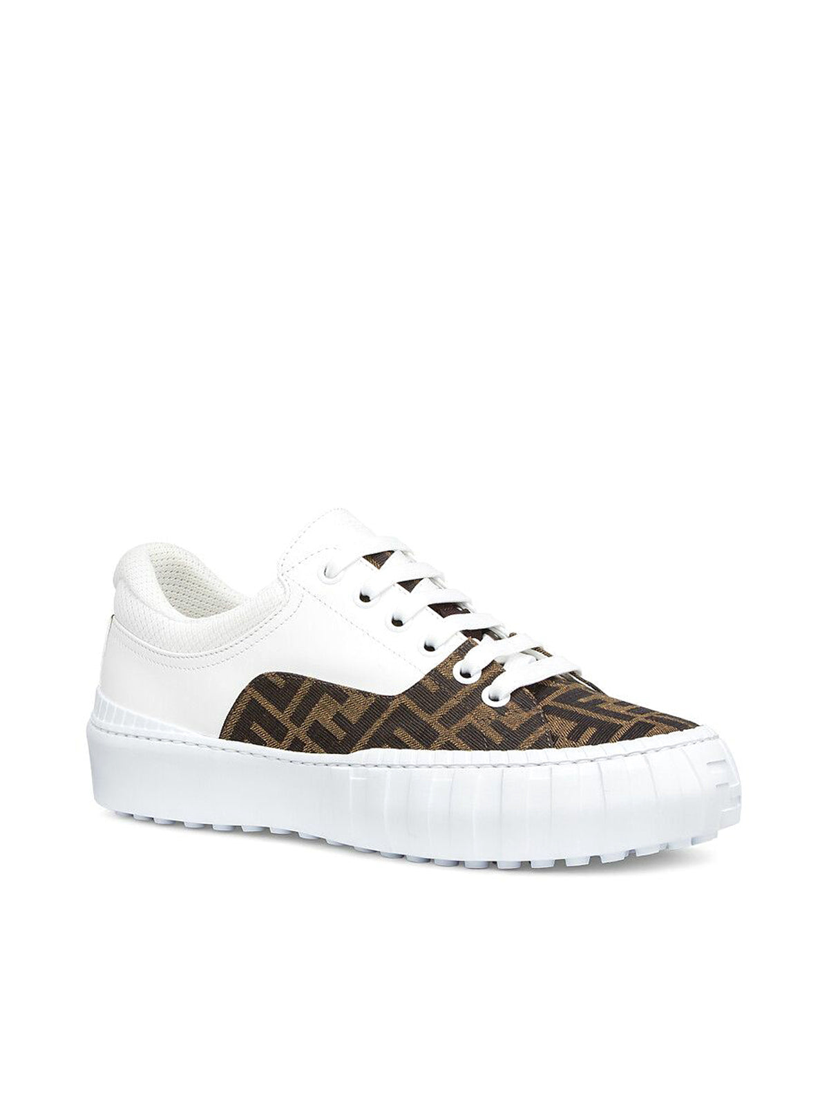 SNEAKER in brown fabric