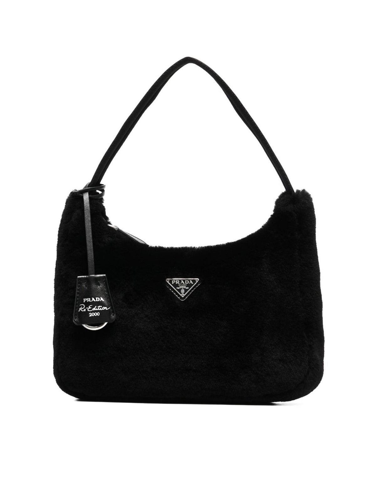 Re-Edition 2000 shearling mini-bag