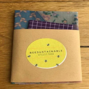 Emily Tinker's Beesustainable Beeswax Wraps - Snack Pack - Baysideluxe