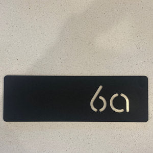 Bayside Luxe - Personalised Letterbox Number - Baysideluxe