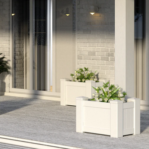 Bayside Luxe Hamptons Planter Box - Medium Rectangle - Baysideluxe