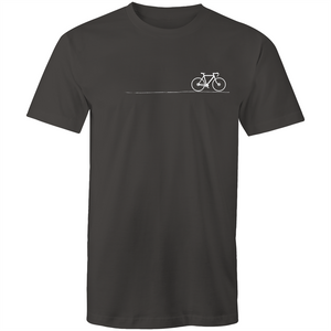 Bayside Cycle - Mens Cycle on the Road T-Shirt - Baysideluxe