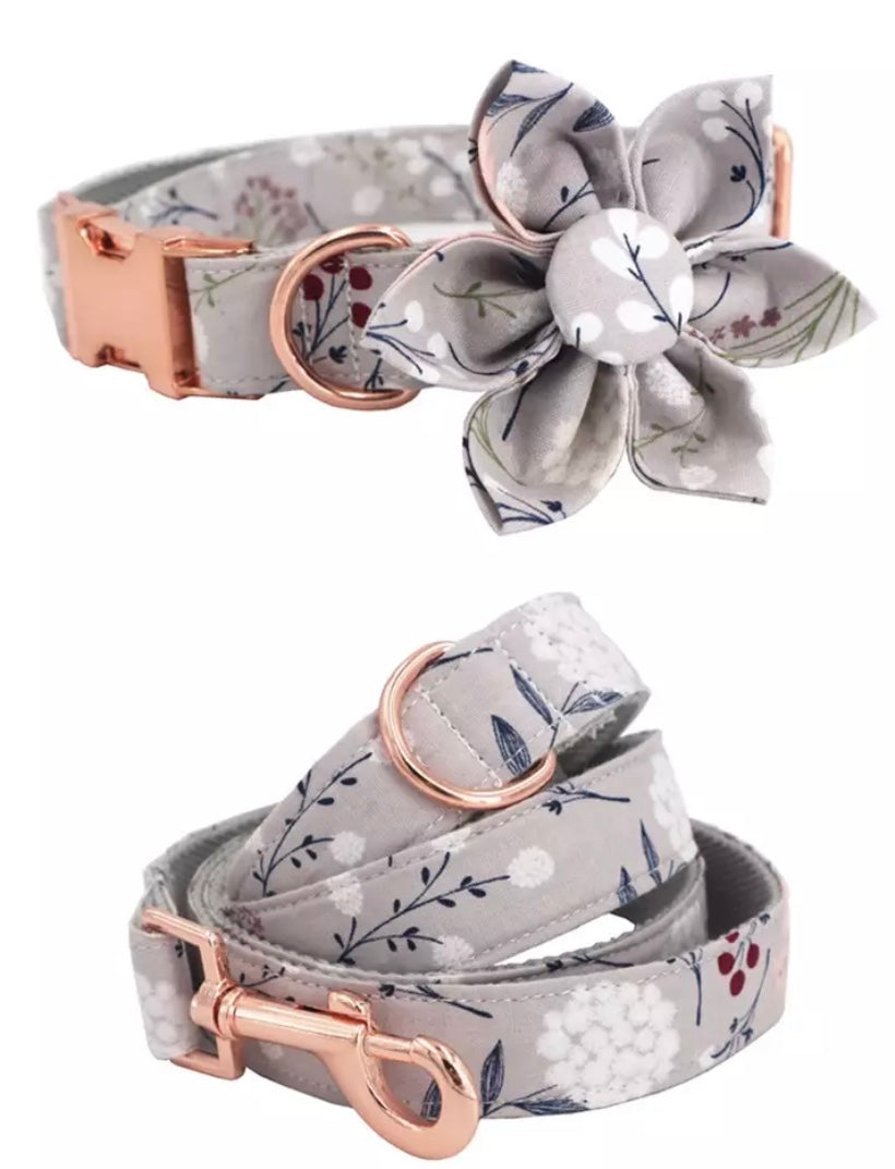 Bayside Doggies - Handmade Style me up doggie collar and lead - Baysideluxe