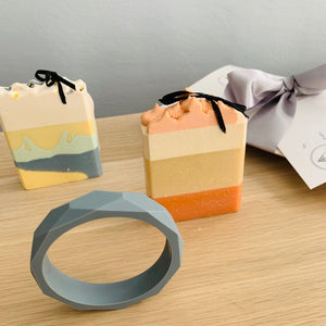 Bayside Gifts - Grey Days Turn Away - Bangle and Designer Soaps - Baysideluxe
