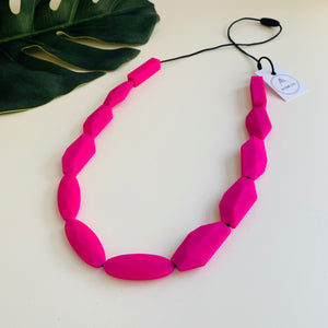 Bayside Jewellery - Fun with Fuchsia Handcrafted Necklace - Baysideluxe